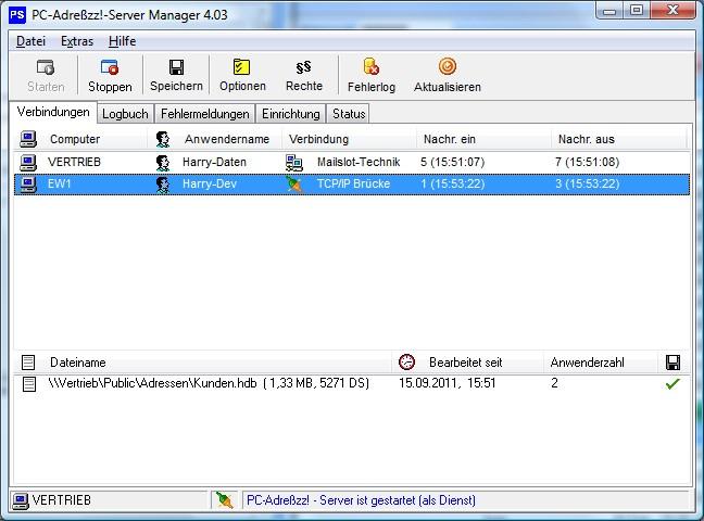 Screenshot für PC-Adreßzz! Server